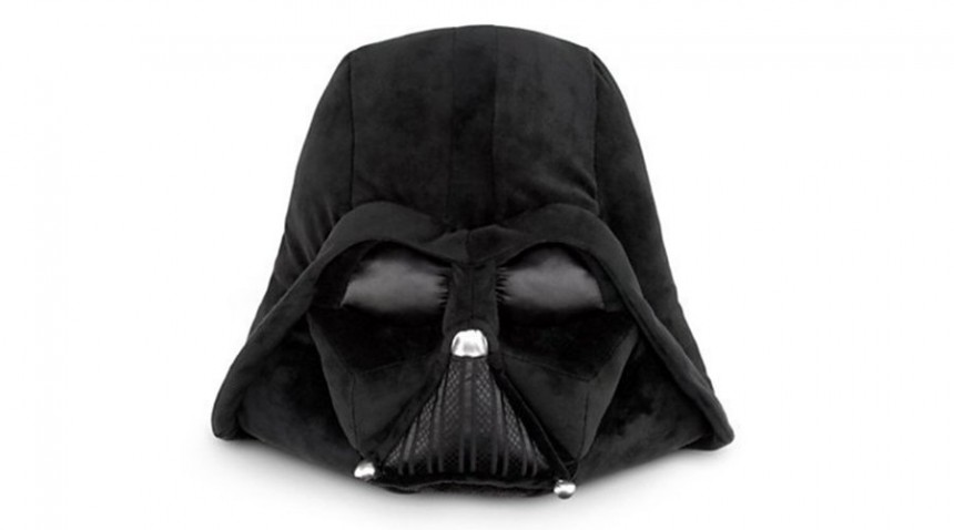 Darth Vader Mask  Pillow