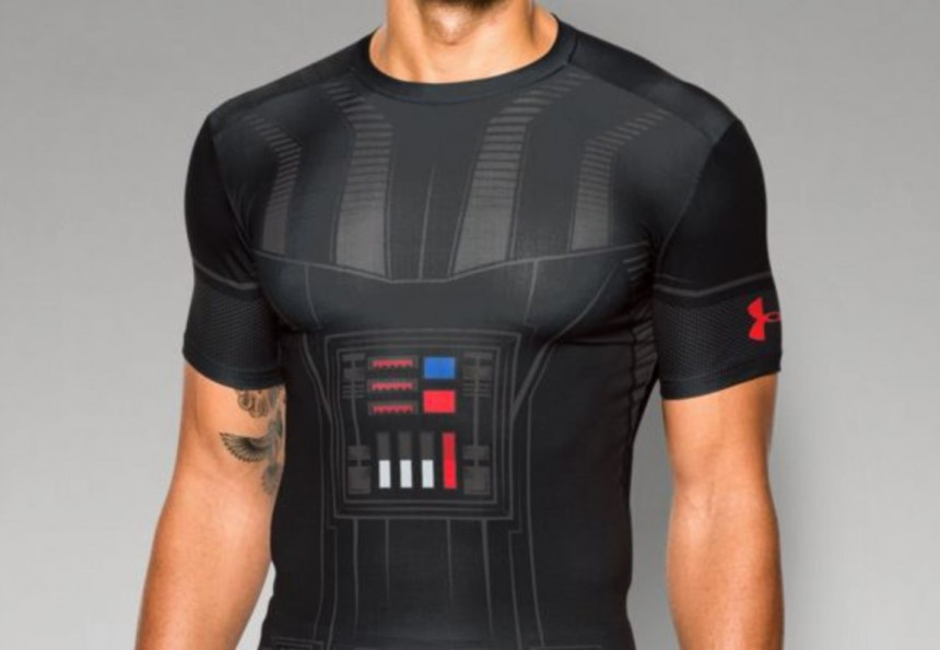 Under Armour Men's Star Wars Vader Compression Shirt